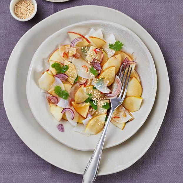 Rettichsalat mit Chili