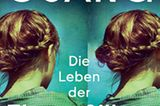 """Buchtipps der Redaktion: Buchcover """"Die Leben der Elena Silber"""""""