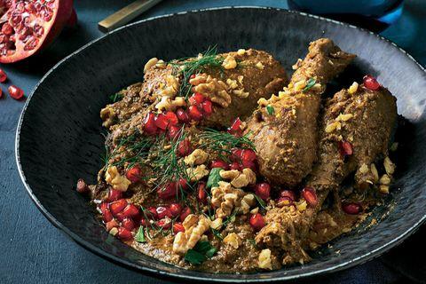 Fesenjan - Persisches Hähnchen mit Walnüssen