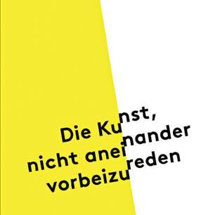 """Buchtipps der Redaktion: Buchcover """"Die Kunst, nicht aneinander vorbeizureden"""""""