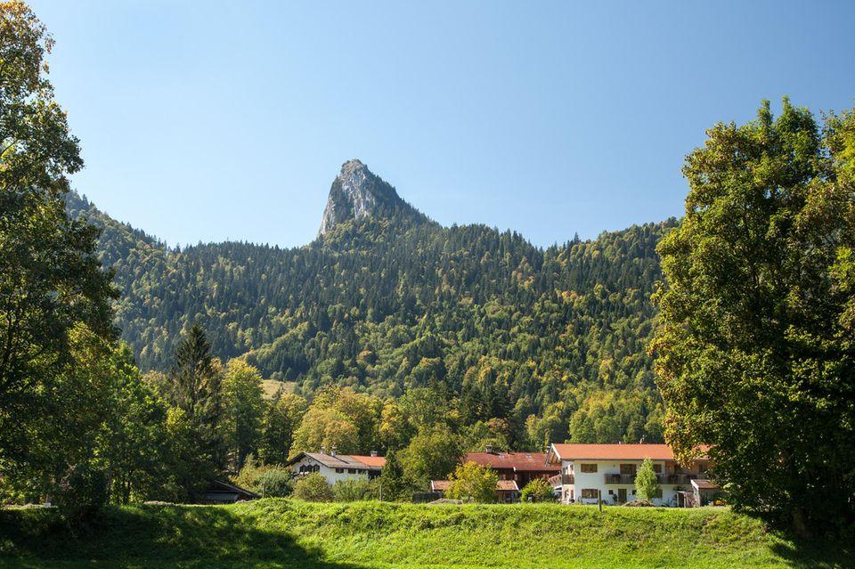 3 beliebte Wandertouren - mal Watt, mal Gipfel: Landschaft Tegernsee