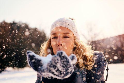 10 Fakten über dich, wenn du dich auf den ersten Schnee freust