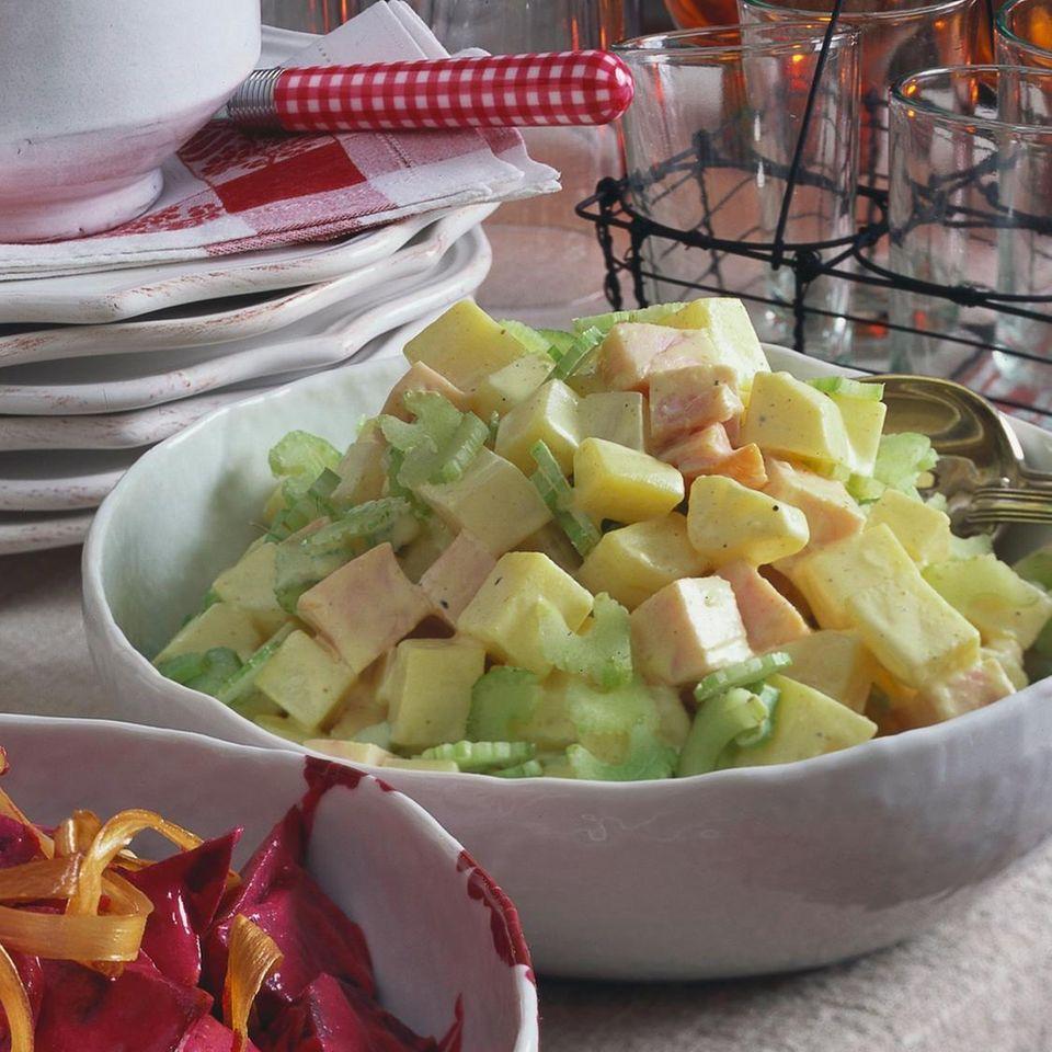 Truthahn-Salat