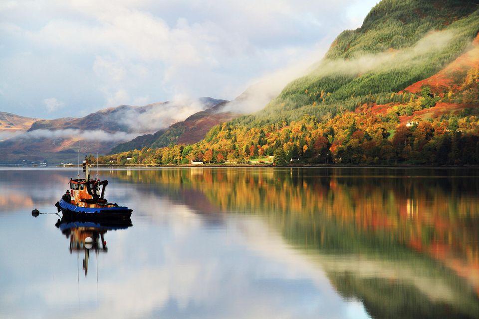 Urlaub im Herbst - 10 spannende Reiseziele: Schottland