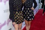 Stars im Partnerlook: Aubrey Plaza und Elizabeth Olsen auf dem roten Teppich