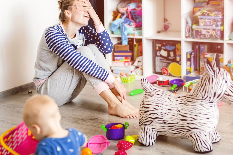 Paula Kuka: Mutter zwischen Spielzeug