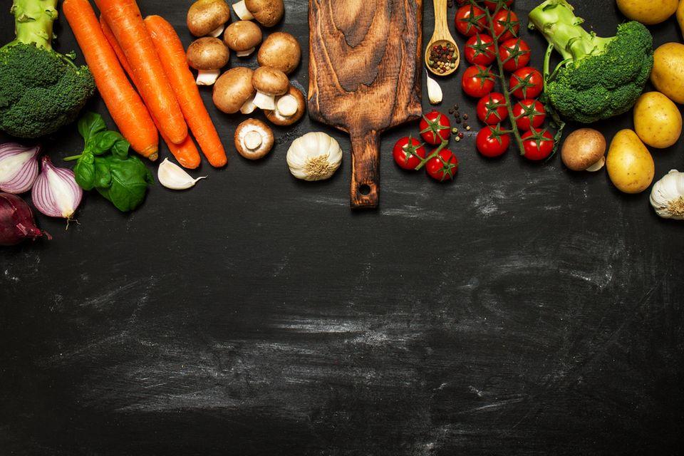 Basische Rezepte: Verschiedenes Gemüse