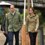 Stars im Partnerlook: Prinz William und Kate Middleton im Parka