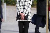 Royals, die günstige Kleidung tragen: Letizia im Hahnentritt-Blazer