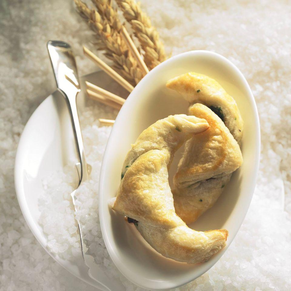 Getrüffeltes Croissant