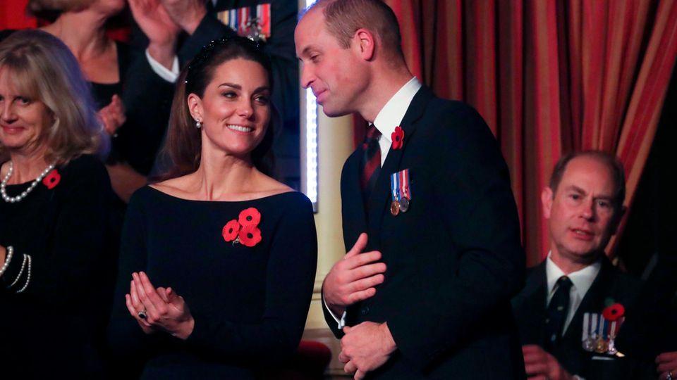 Herzogin Catherine: Sie zeigt Prinz William die kalte Schulter