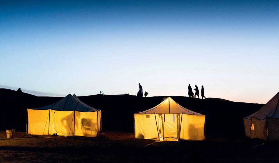 Marokkos Süden - die besten Reisetipps: Idylle vor dem Sandsturm