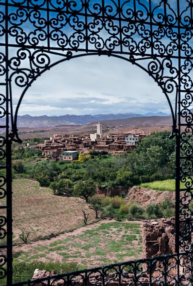 Marokkos Süden - die besten Reisetipps: Blick aus der Kasbah