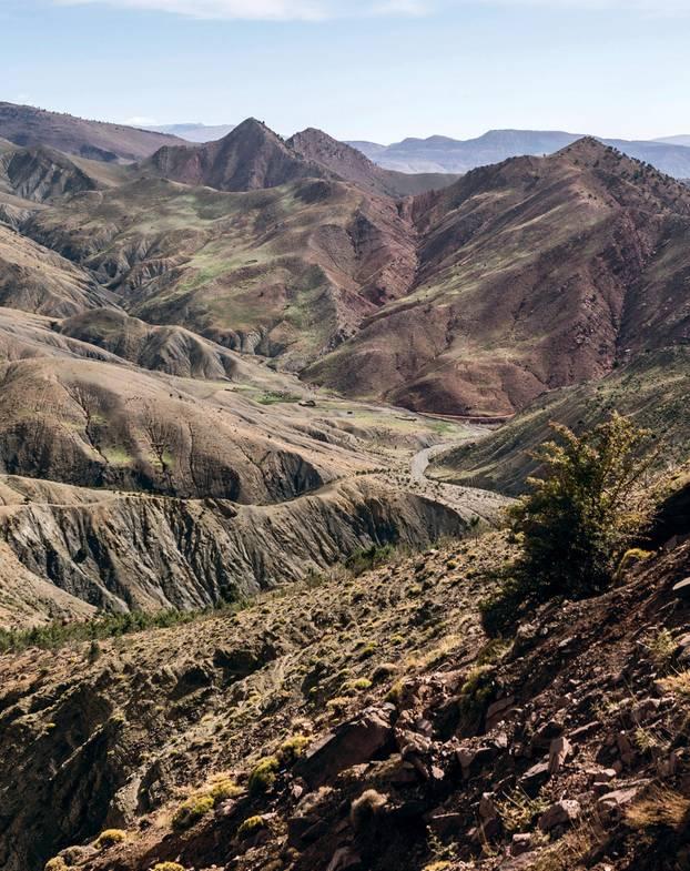 Marokkos Süden - die besten Reisetipps: Gipfel des hohen Atlas