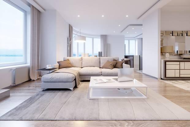 Modern wohnen: Loft mit Küche
