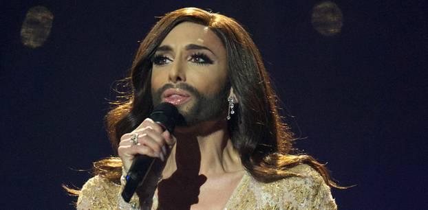 Conchita Wurst: auf der Bühne