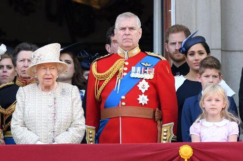 Prinz Andrew, Prinz Harry, Herzogin Meghan