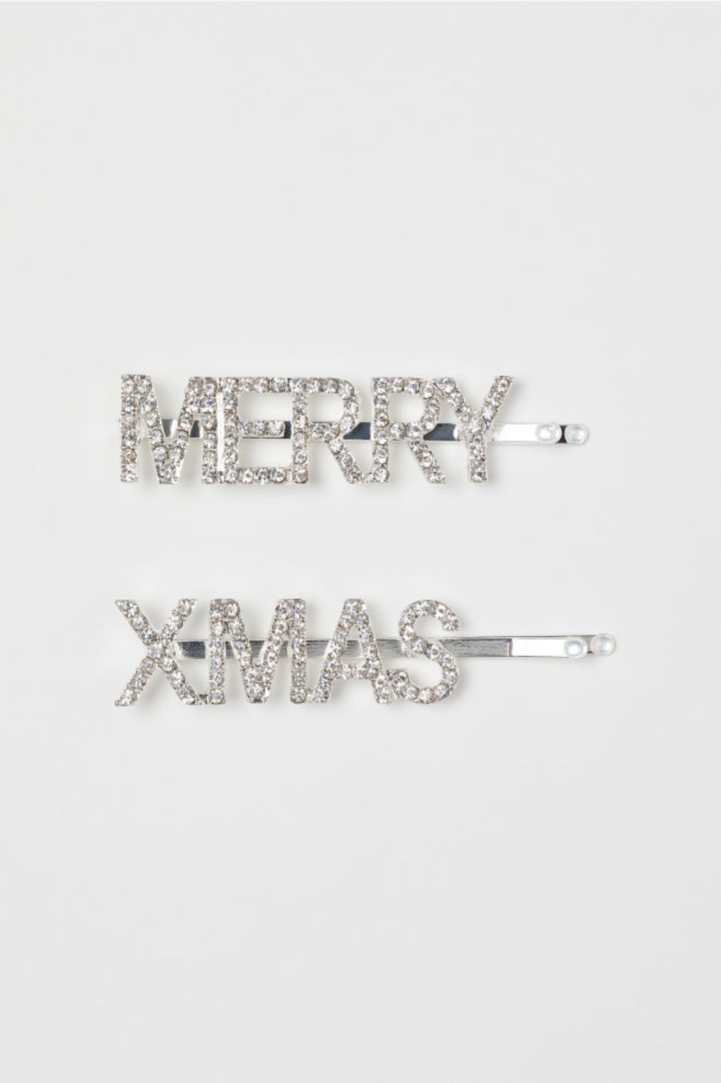 Haarspange mit Merry X-Mas Print
