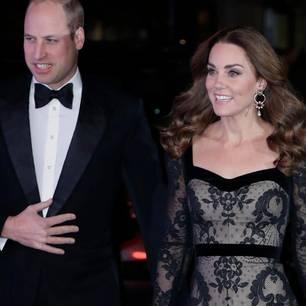 Herzogin Kate: mit Prinz William unterwegs