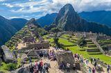 Die berühmte Inkastadt in Peru soll nun auch noch durch einen neuen Flughafen besser erschlossen werden.