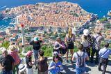 """Auch Dubrovnik platzt aus allen Nähten, nicht erst, seit dort Szenen für die Serie """"Game of Thrones"""" gedreht wurden. Inzwischen versucht die Politik, denBesucherandrang in der Altstadt durch verschiedene Maßnahmen zu begrenzen."""