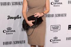 Birgit Schrowange: auf dem roten Teppich