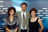 Birgit Schrowange: mit Günther Jauch und Claudia Lehmann
