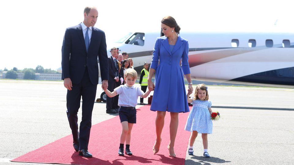 Prinzessin Charlotte hat bereits eine Lieblingsfrisur – und die macht es Mama nicht einfach …