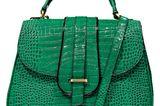 Fashion-Highlights: Schöne Mode-Trends der Saison: Grüne Tasche