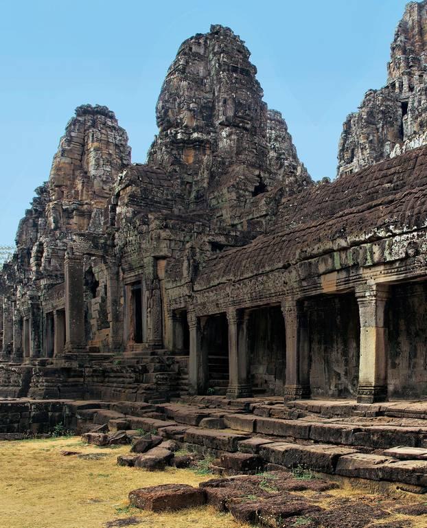 Kambodscha: Tipps für eine Rundreise: Bayon-Tempel