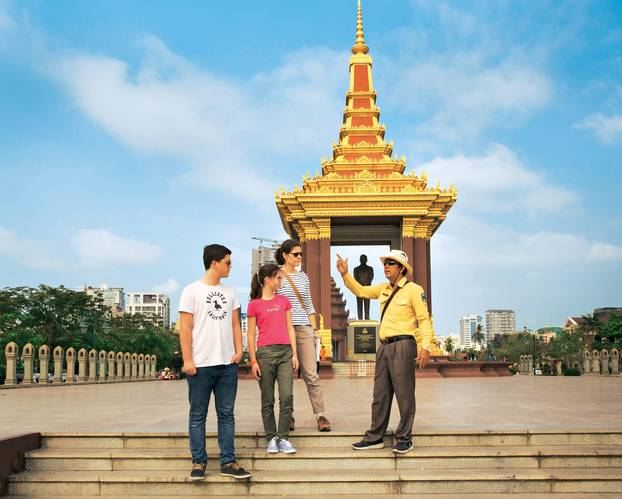 Kambodscha: Tipps für eine Rundreise: Königsplatz