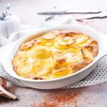 Gratinieren: Überbackenes Kartoffelgratin