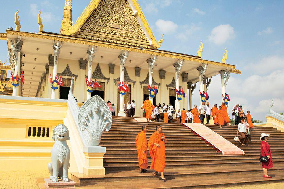 Kambodscha: Tipps für eine Rundreise: Königspalast