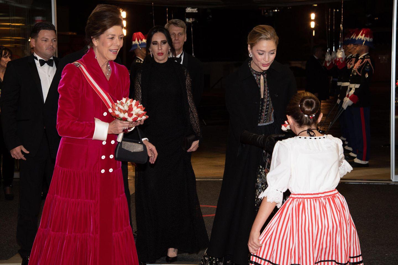 Looks der Royals: Charlene von Monaco ganz in weiß