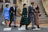 Looks der Royals: Marie Chevallier, Louis Ducruet, Beatrice Borromeo, Pierre Casiraghi and Alexandra von Hannover