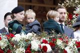 Royale Kinderfotos: Pierre Casiraghi, Beatrice mit Söhnen Francesco und Stefano