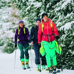 Klassenreise in den Schnee?: Tourengehen den Berg hoch