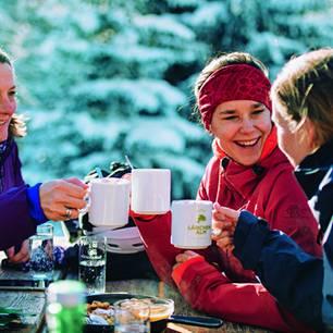 Klassenreise in den Schnee?: Einkehrschwung auf Alm
