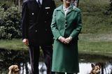 Prinz Philip und die Queen: mit Hunden
