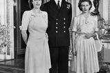 Prinz Philip und die Queen: bei ihrer Verlobung