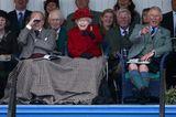 Prinz Philip und die Queen: unter einer Decke