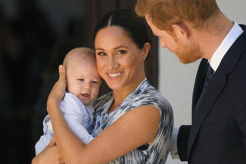 Prinz Harry, Herzogin Meghan und Baby Archie