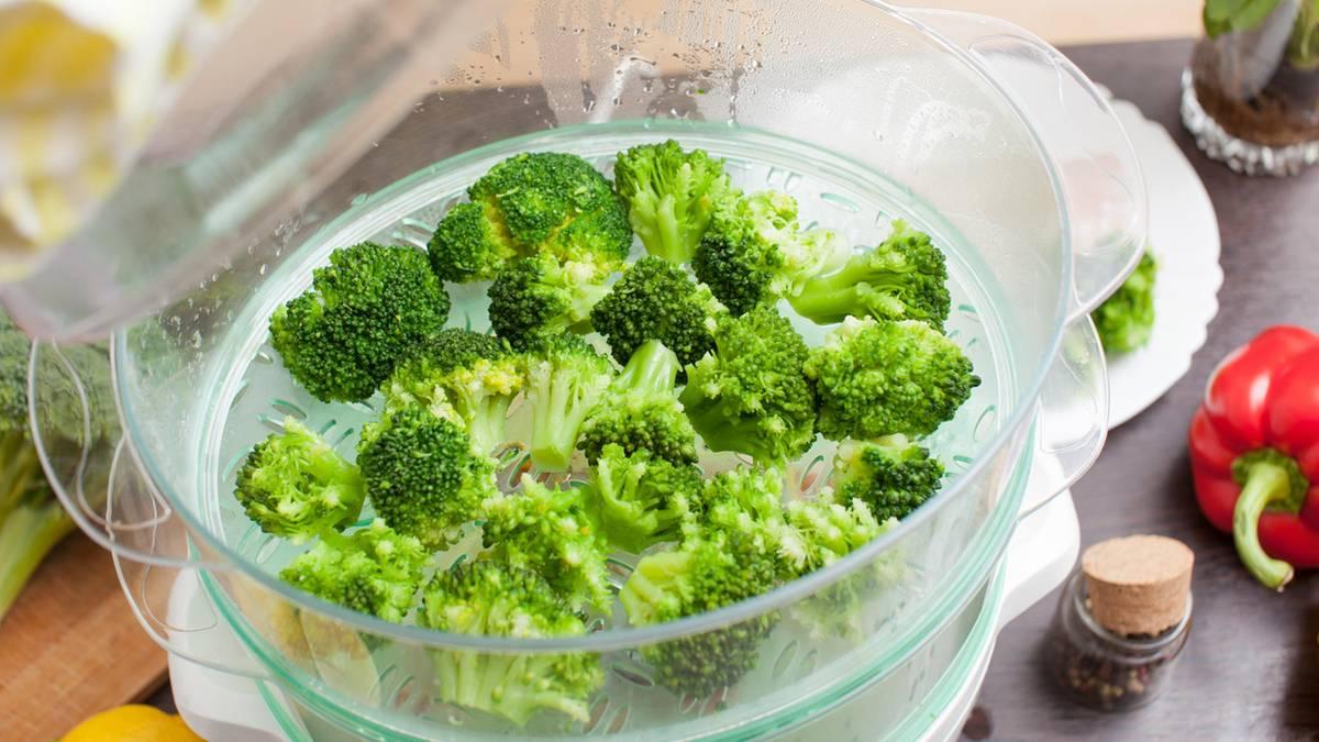 Gemüse Dämpfen