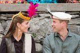 Meghan, Kate und Co. 2019: Prinz William und Herzogin Kate mit Kopfbedeckung