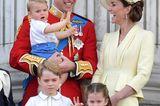 Meghan, Kate und Co. 2019: Prinz William mit Familie auf dem Balkon