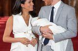 Meghan, Kate und Co. 2019: Prinz Harry und Meghan Markle mit Baby Archie