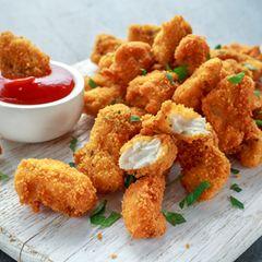 Blitzschnelles Rezept für selbstgemachte Chicken Nuggets: Foto von Chicken Nuggets