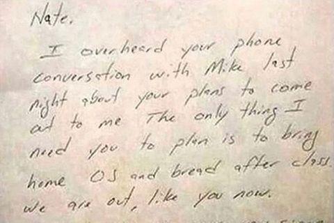 Brief, den Vater an seinen schwulen Sohn schrieb