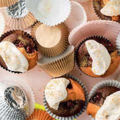 Donauwellen-Muffins