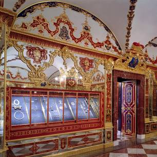 Dresdner Juwelenraub: das Juwelenzimmer